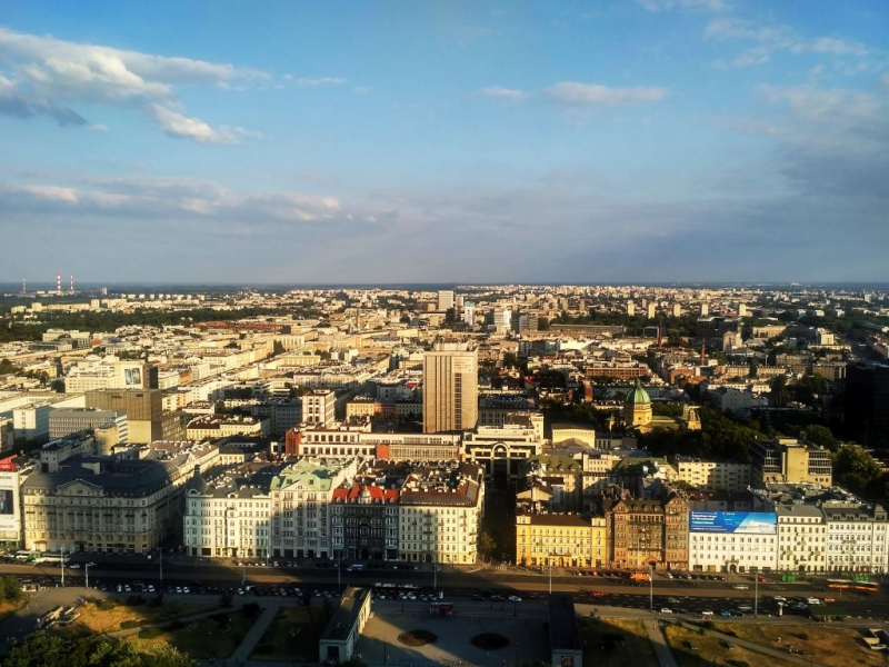 Смоленск - Белоруссия - Варшава июнь 2018 (автомобиль-поезд)