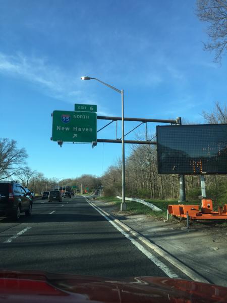 New England на авто, апрель - май, 2018