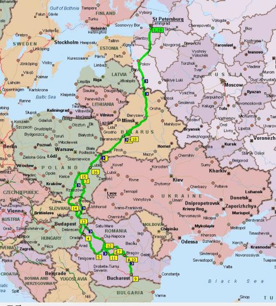 В гости к Дракуле через всю Европу
