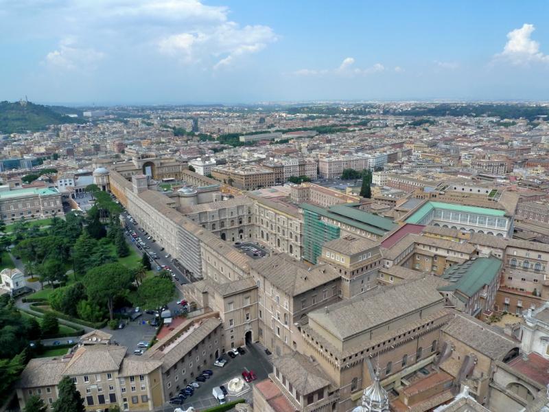 Дюссельдорф-Рим-Брюссель, три дня незабываемых впечатлений