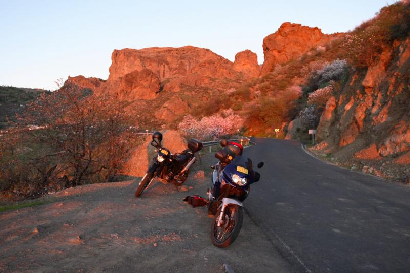 Январская Гран-Канария на прокатных мотоциклах