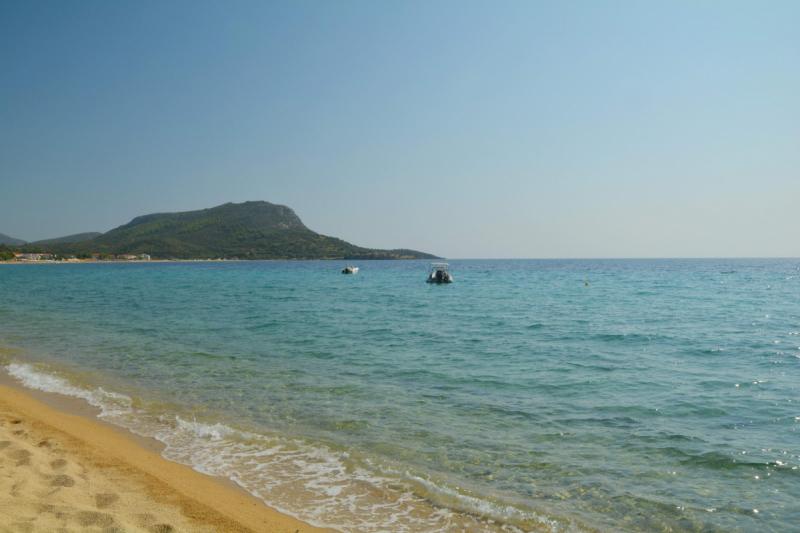 Полуостров Ситония: 2 недели на машине с детьми по разным пляжам