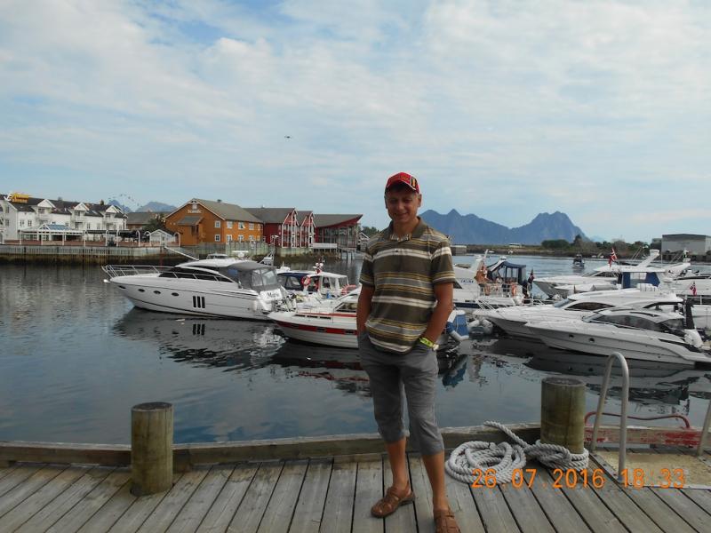 Лада Гранта на краю Ойкумены - Норвегия 2016