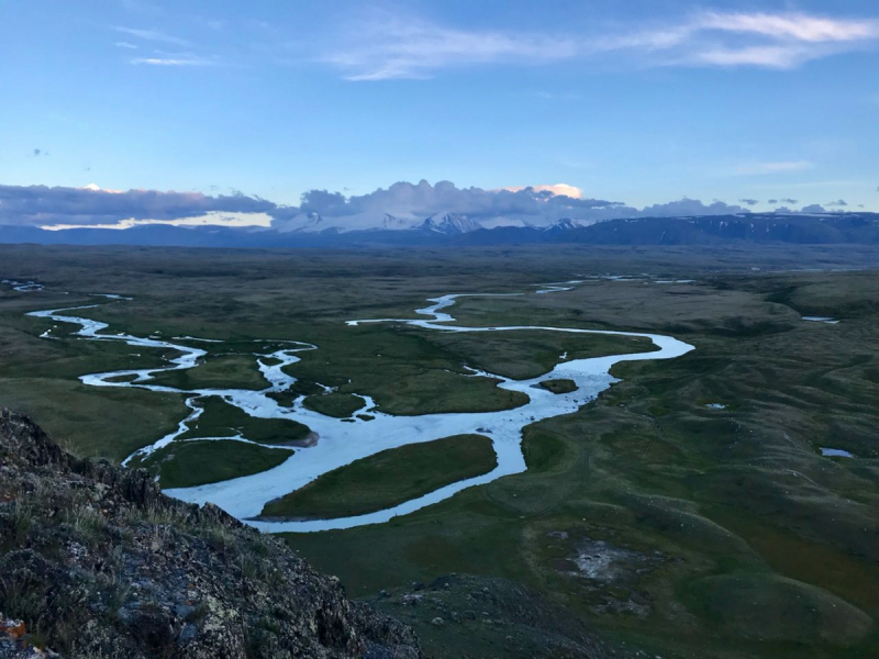 По местам Силы Горного Алтая в июле 2018 года. Встреча лунного затмения на плато Укок.