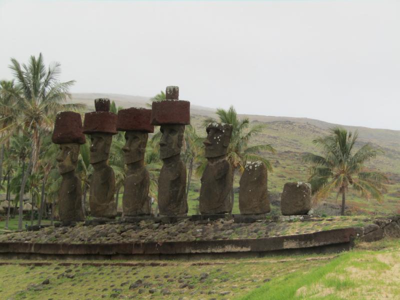 Чили(Остров Пасхи (Рапа Нуи))Сентябрь 2018