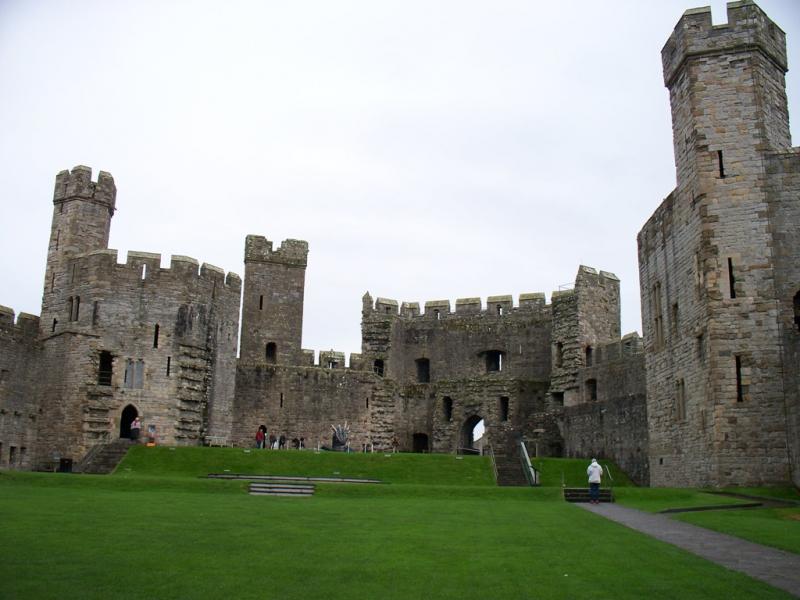 Замки Уэльса и Англии - Путешествия с 4-часовой лучевой симметрией из Оксфорда