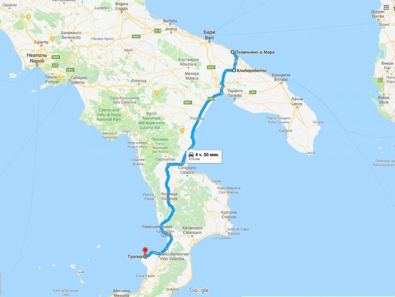 Как крымчане к Сицилии MURANOй катались или вся Италия сверху донизу за 20 дней