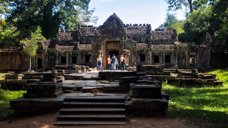 Земля кхмеров: наши впечатления, ноябрь 2018 + кусочек Шанхая.