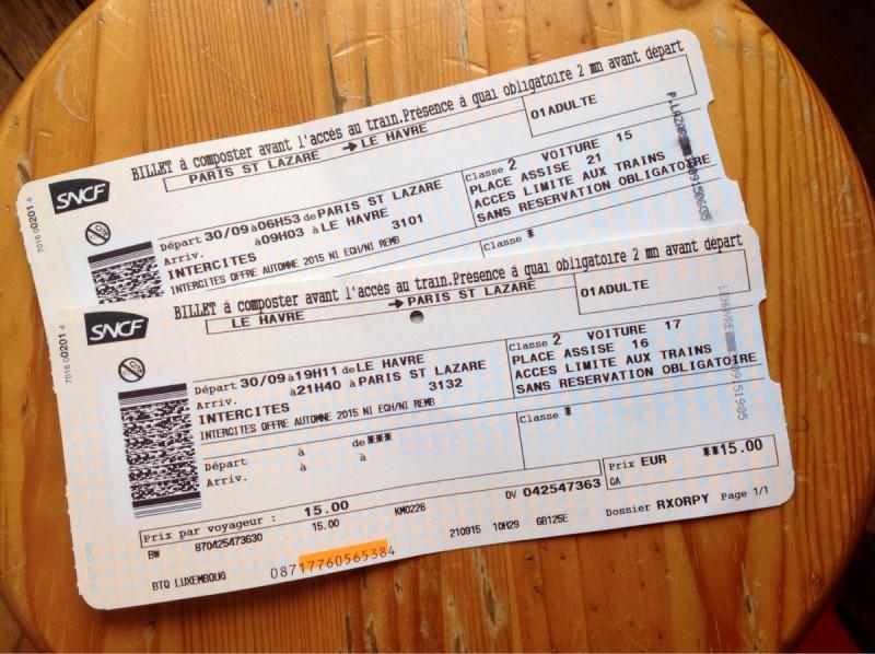 На один день из Парижа - Этрета (и даже Гавр)
