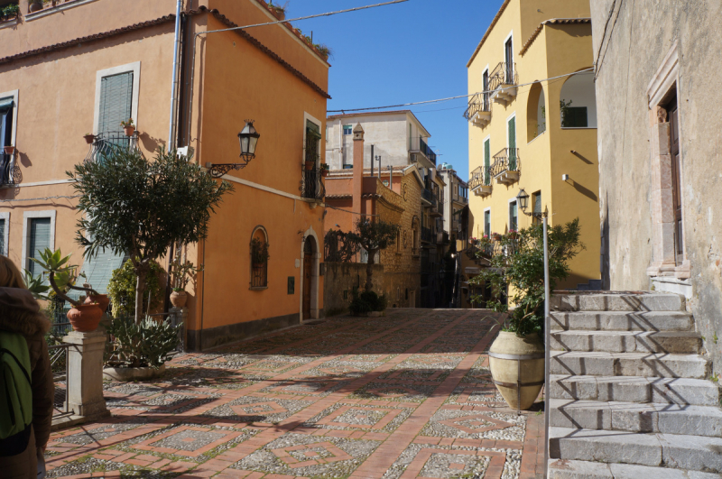 Зима на Сицилии.