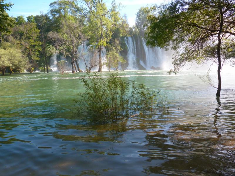 Помогите по водопаду Кравице