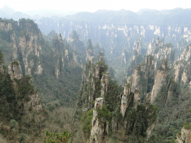 Две китайские мартовские недели. Города, горы и море