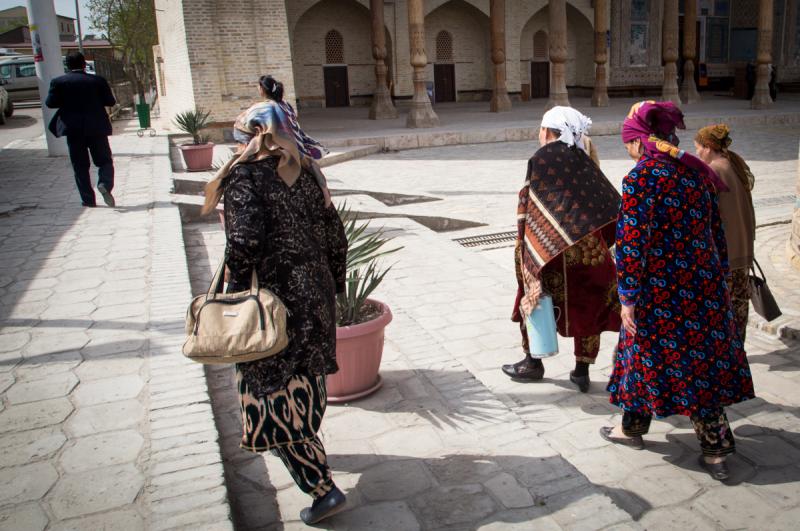 Узбекистан в марте - фотоотчёт