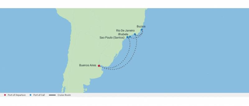 Бразилия без диких обезьян (Celebrity Eclipse 17-27 февраля)