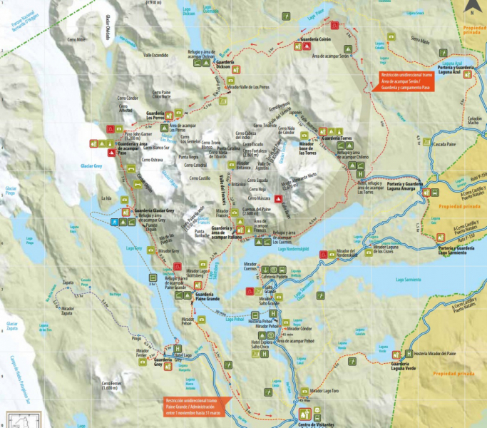 Опыт трёхнедельного путешествия по южной Патагонии в апреле 2019 г. Часть 1 — Чили.