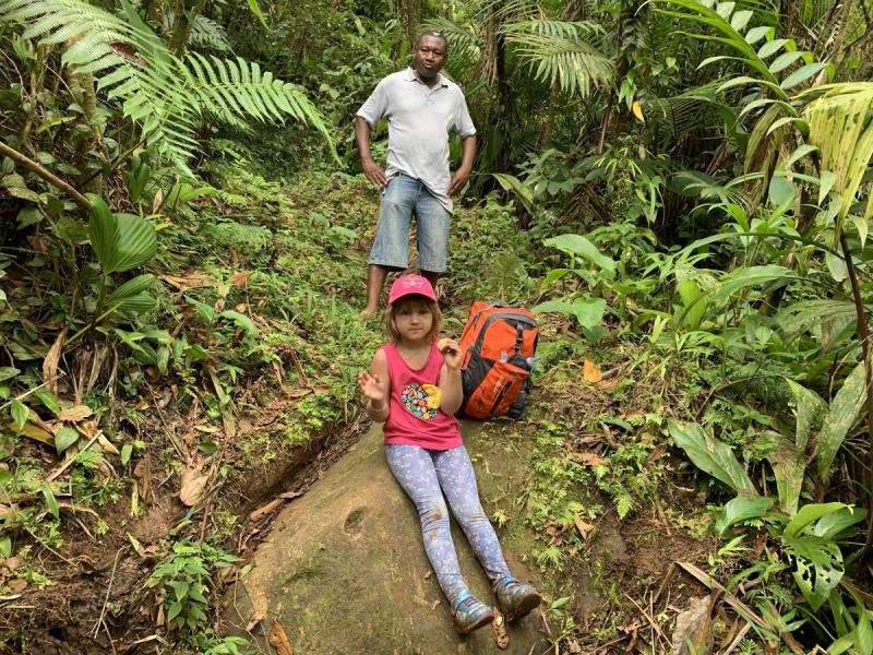 Гренада с детьми - поездка по острову и хайкинг