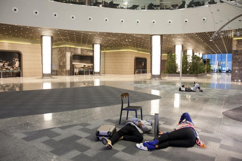 Новый аэропорт Стамбула Yeni в картинках и коротких комментариях