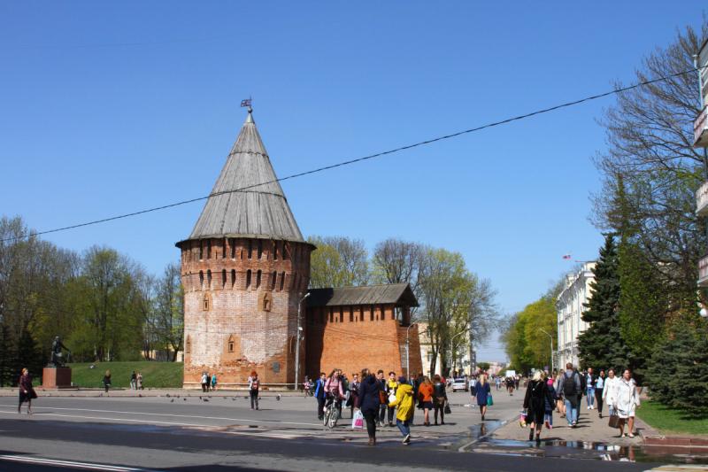 Смоленск - 28 апреля - 1 мая 2019. Город Золотого кольца.