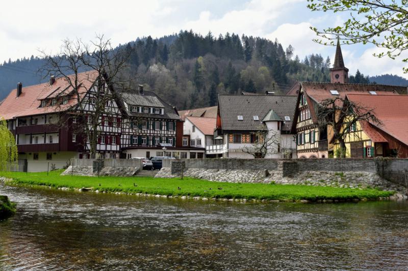 Весенний Шварцвальд+Эльзас на общественном транспорте