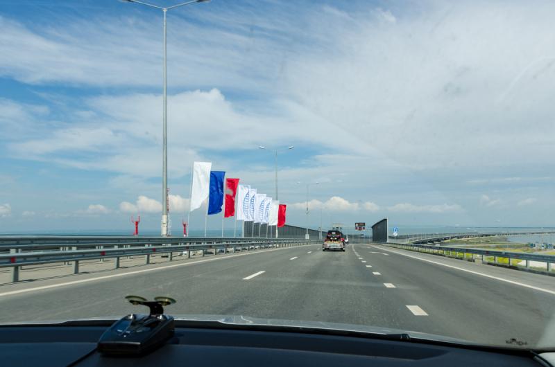 Отдых в Крыму на машине, май 2019