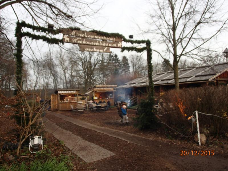 Рождественская ярмарка в поместье Бастхорст.
