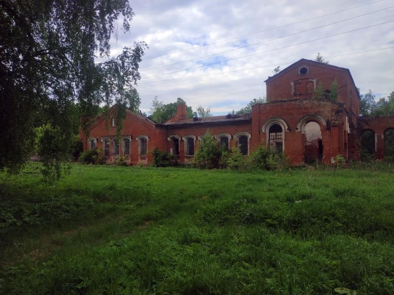 Юрьев-Польский район Владимирской области. Заброшенные церкви и усадьба графа Толя