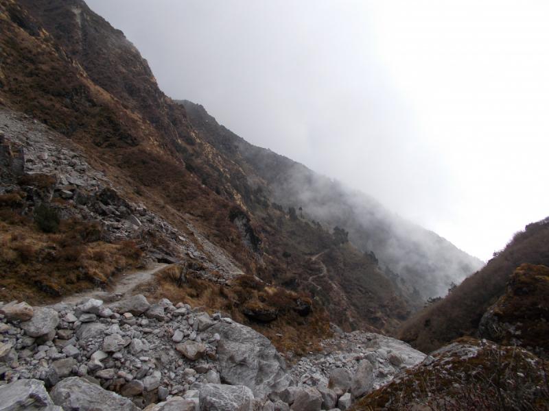Трек к озеру Госайкунда/Gosaikunda. Ноябрь, 2018.