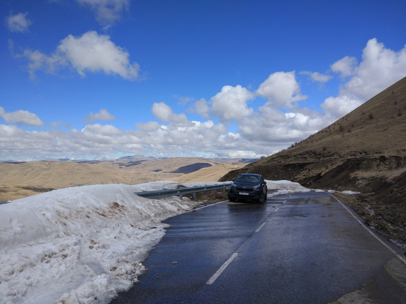 Домбай, Эльбрус, Кавказские минеральные воды на машине в мае 2019 года