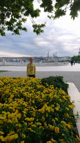 11 дней по Азербайджану с тремя детьми на общественном транспорте - май 2019