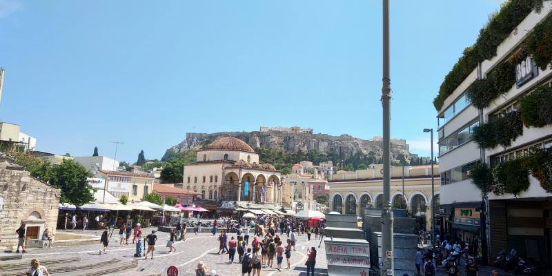 Афины и Салоники июнь 2019