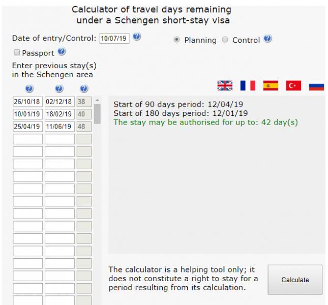 Срок пребывания в Шенгене. Как считаются 90 дней