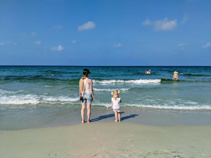 Пляжный отдых в Испании (Коста Калида) с ребёнком 3.5 года. Июль 2019.