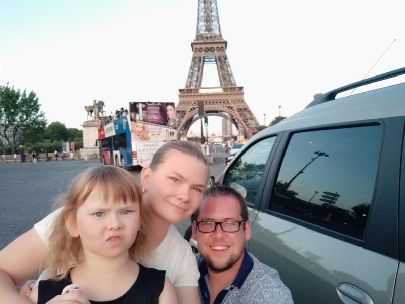 Автопутешествие Санкт - Петербург - Париж, август 2019