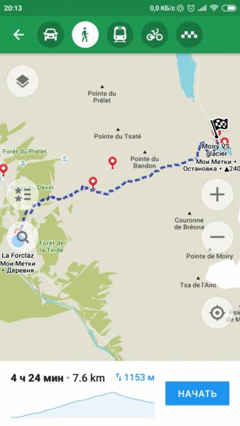 Walker's Haute Route. Из Шамони в Церматт за 9 дней.