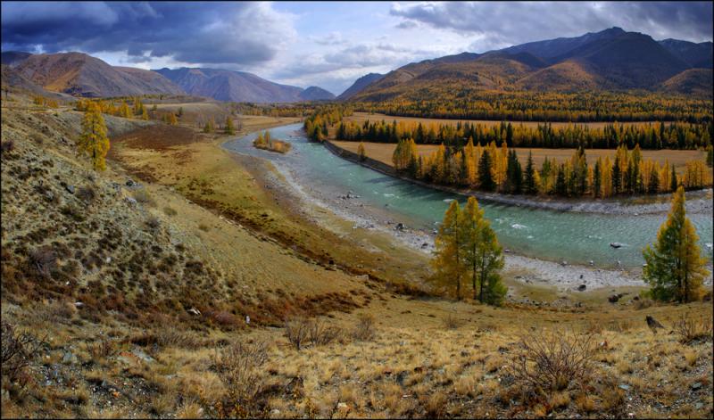 Горный Алтай. Чуйский тракт на а/м с водителем + треккинг на Мультинских озерах
