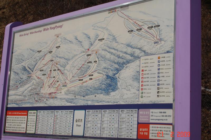 Горнолыжные курорты Альпенсия или Йонпьен (Alpensia или YongPyong)