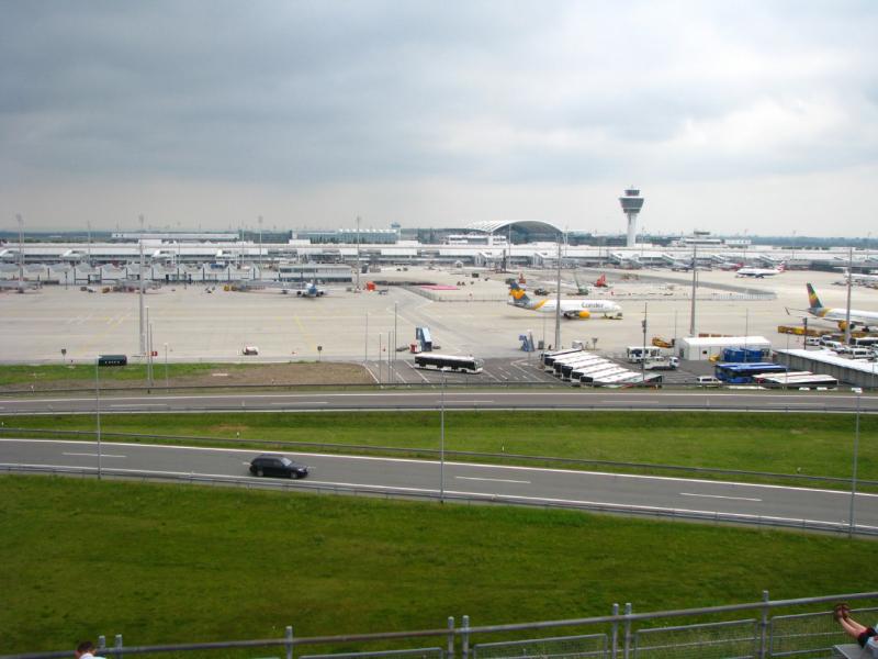 Что мы делали в аэропорту Мюнхена и во Фрайзинге (июнь 2019)