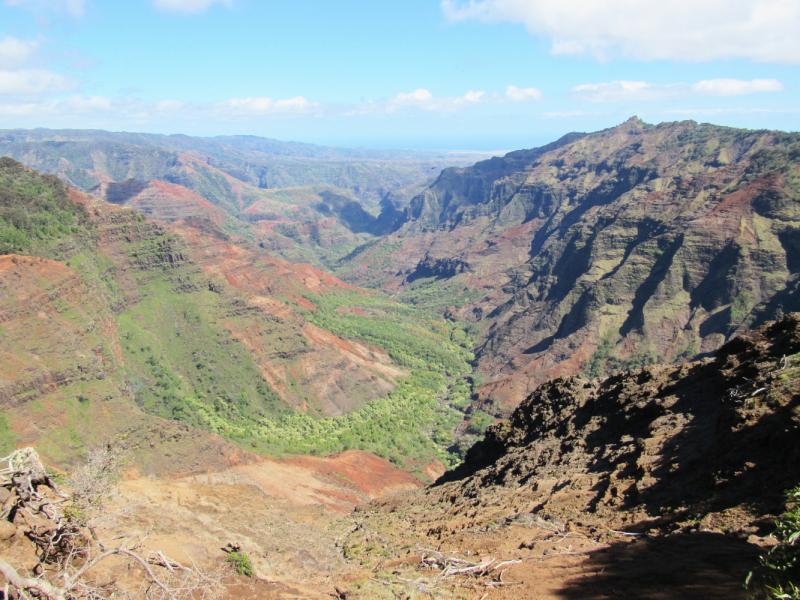 Чудесные Гавайские острова Кауаи и Оаху.