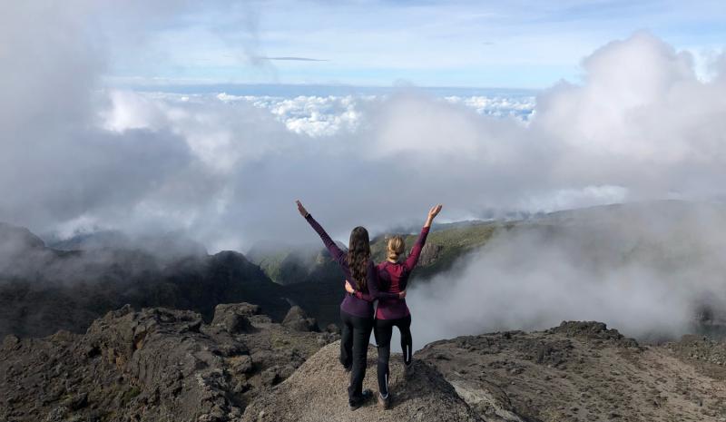 Восхождение на Килиманджаро в декарбе 2019