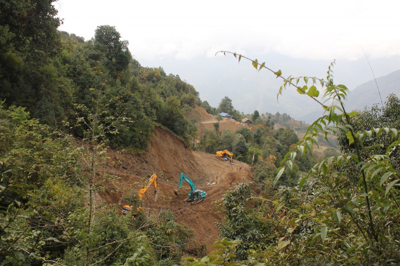 Сагарматха: Гокио, Чо Ла пасс, Чукхунг; вход-выход по земле; ноябрь 2019г.