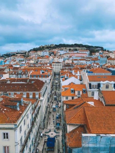Юг Португалии февраль 2019 с младенцем
