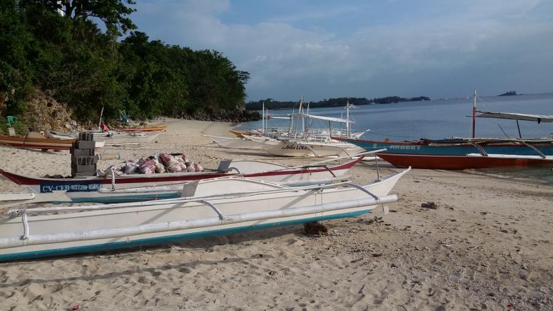 Реально, как есть. Пляжный Малапаскуа, февраль 2020.