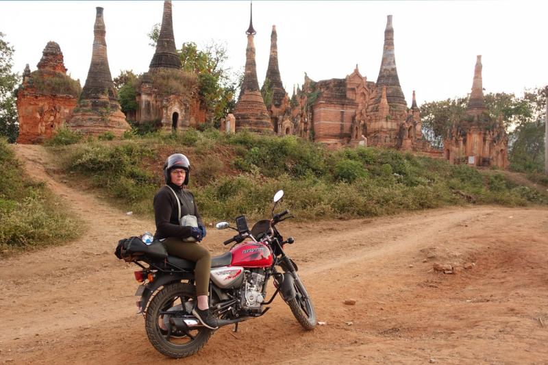 Мотопробегом по Мьянме, декабрь 2019.