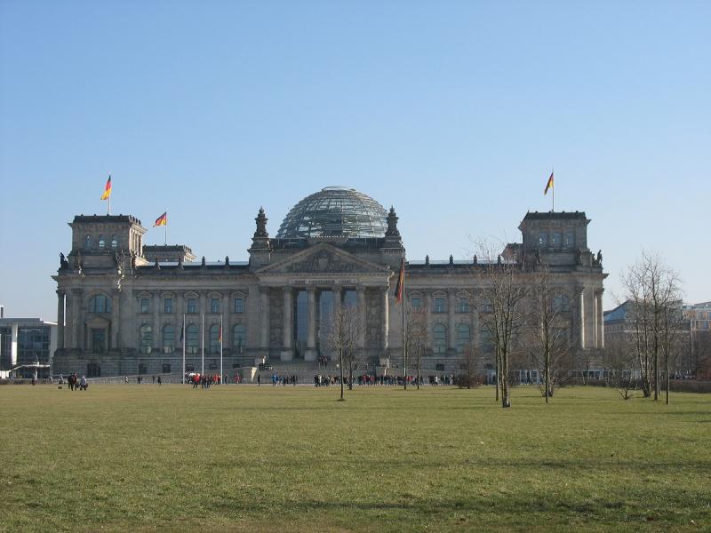 Первый раз за границу. Берлин.