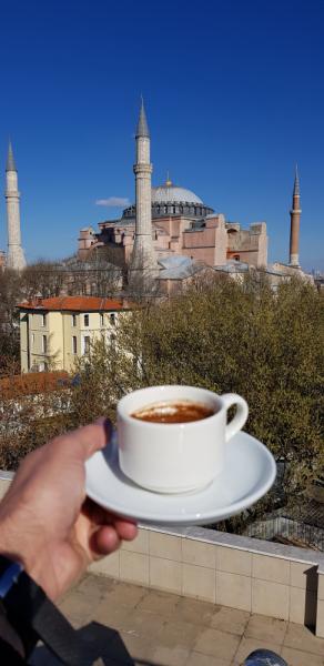 Стамбул в марте 2019. Много фото.