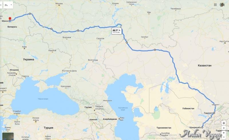 Истории из первого самостоятельного путешествия в Cреднюю Азию