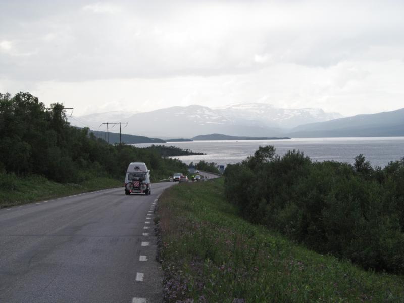 Вело Лофотены июль 2019