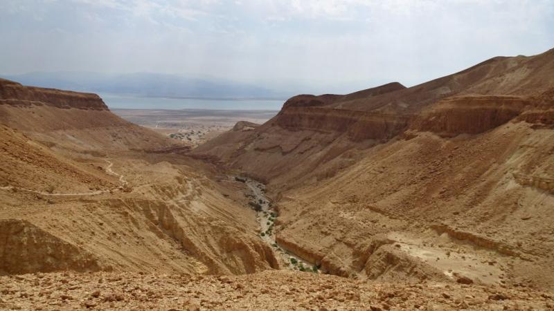 Пешком по ущельям Мертвого Моря