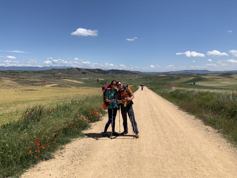 Camino de Santiago (Camino Frances), лето 2019