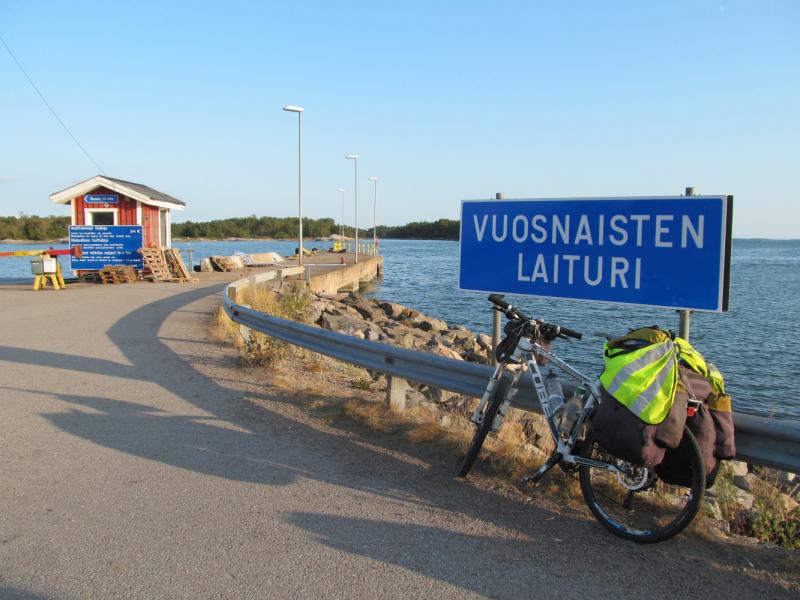 Вело Швеция (через Финляндию) август 2019г